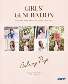 """""""#소녀시대(Girls' Generation) #시즌그리팅 Prologue  2017 SEASON'S GREETINGS 'Ordinary Days'  [DESK CALENDAR] https://t.co/pLeRsf15DR"""""""