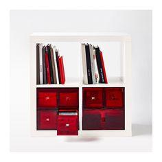 LEKMAN Miniladekast - rood - IKEA