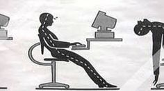 It's easy to forget about your body's needs when you're deep into your work or the net—until your body offers a painful reminder. Save your physical shell some strain with these cheap, customizable ergonomic workspace upgrades. Save Yourself, Improve Yourself, Health And Wellbeing, Digital, Exercises, It's Easy, Simple, Shell, Forget