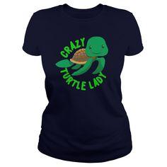 crazy turtle lady - Hoodie $42.95