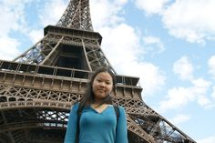 Paris must do touristy thing of course!