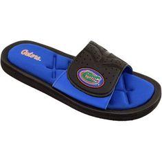 Michigan Men's Cushion Slide Sandal, Blue