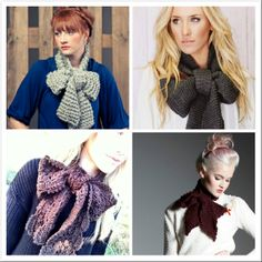 Butterfly Knot Scarf
