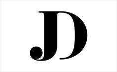 JD Monogram for Jon Dunn using F37 Bella typeface.