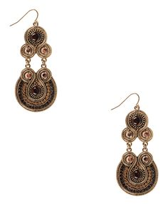 old-world exotic earrings