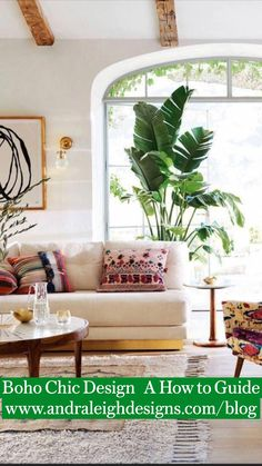 Colourful Living Room, Eclectic Living Room, Boho Living Room, Cozy Living, Living Room Decor, Living Room With Plants, Vintage Modern Living Room, Small Living, Inspiration Design