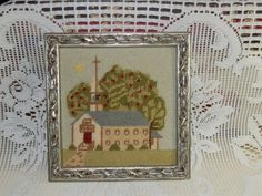 Old Timey Church in the Wildwood by HistoryHouseAntiques on Etsy