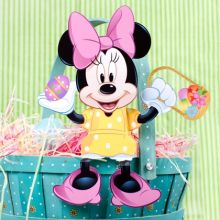 Minnie Mouse Easter Candy Box | Disney Easter Printables, Crafts, Egg Holders and More | SKGaleana