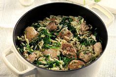 Κατσαρολάτο γιουβέτσι με κοτόπουλο, σπανάκι και μυρωδικά - Συνταγές   γαστρονόμος