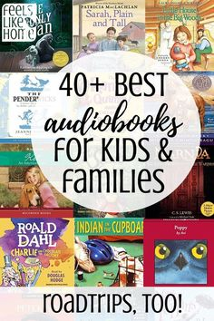 Wow, such a great list! These are the best audiobooks for kids and families! There are so many new and classic books here, definitely something for everyone for road trips or just listening at home. All roadtrips are better with audio books! Road Trip With Kids, Family Road Trips, Travel With Kids, Family Travel, Audio Books For Kids, Childrens Books, Teen Books, Learning Through Play, Fun Learning