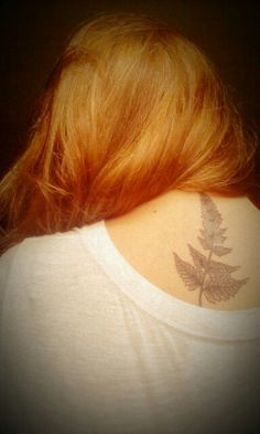 Not on the neck. Maybe have a branch with my original leaf idea.