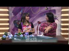 Artesã: Noemi Fonseca Exibição: 11/08/2014 Programa: Mulher.com PAP: 5 Novelos do fio Vip Agulha nº 5,5 para tricô Agulha de tapeceiro Acompanhar a videoaula
