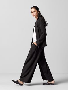 The Pleated Wide-Leg Pant.