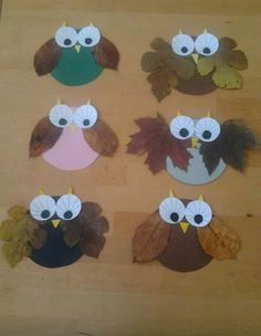 creative brainstorming: Autumn hunting tips - - basteln Fall Crafts For Kids, Thanksgiving Crafts, Holiday Crafts, Art For Kids, Kids Crafts, Daycare Crafts, Toddler Crafts, Owl Crafts, Crafts To Do