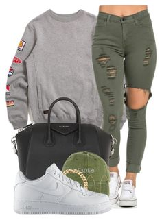 CHILL VIBES by alexanderbianca on Polyvore featuring 10.Deep, NIKE, Givenchy, Lana, women's clothing, women's fashion, women, female, woman and misses