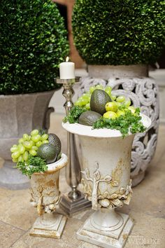 WedLuxe– Fresco Verde, Part 2 | PHOTOGRAPHY BY: MELANIE REBANE PHOTOGRAPHY Follow @WedLuxe for more wedding inspiration!