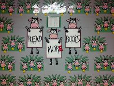 """Read More Books"" Bulletin Board"