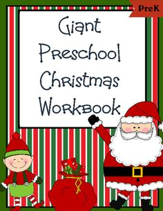Giant Christmas Workbook (30 pages) from Homegrown Love 101 on TeachersNotebook.com -  (31 pages)  - This Christmas workbook is sure to bring on lots of holiday cheer!