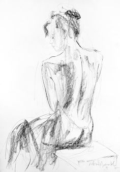 Giclee print of original drawing made by Ivan Angelov. Living room or bedroom decor. Modern wall art. High quality art prints represent the original artworks perfectly and when framed they look amazing. Its an easy and inexpensive way to decorate your home or office with quality art!  - Title : Woman - Size: of your choice:  20x28 16x22 14x20 12x17 10x14 8x11  - Materials: Printed on Hahnemuhle 300gsm cotton fine art paper with K3 archival inks. It has a white border for easy framing.  It…