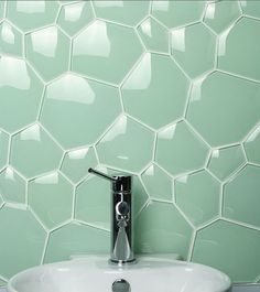Стеклянная плитки для ванной комнаты Evit