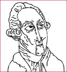 Lavoisier - desenho de César Landucci - São Paulo, Brasil.
