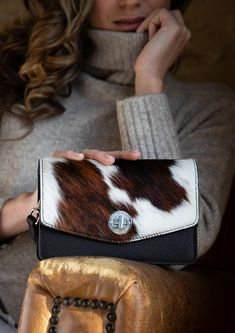 Hyde & Hare: Handcrafted, British, Cowhide Accessories Cowhide Bag, Hyde, Small Bags, Luxury Lifestyle, Leather Craft, British, Purses, Leather Products, Crafts