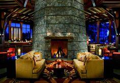 Most Romantic Hotel Fireplaces: The Ritz-Carlton, Lake Tahoe