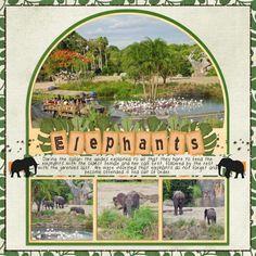 Gallery Stand Outs at @Alice Cartee Vargas Hall Stacks - Kilimanjaro Safari at Disney Animal Kingdom