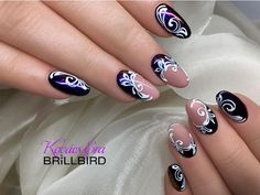 Tina's Nails, Manicure, Hair And Nails, Acrylic Nails, Elegant Nail Designs, Short Nail Designs, Nail Art Designs, Beautiful Nail Art, Gorgeous Nails