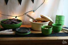 Easy Halloween Entertaining with Fiesta® Dinnerware.