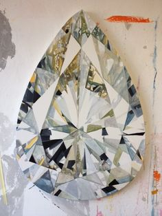 Diamonds - Kurt Pio, a South African artist . love his large diamond paintings! Painting Inspiration, Art Inspo, Diamond Art, Diamond Dreams, Diamond Quilt, South African Artists, Jewelry Drawing, China Painting, 2d Art