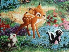 Thomas Kincaid, Bambi or can be used for Snow White.yes I am making both of these! Cinderella turned out beautiful. Disney Dream, Disney Love, Walt Disney, Thomas Kinkade Puzzles, Disney Pop Art, Kinkade Paintings, Thomas Kincaid, Thomas Kinkade Disney, Bambi And Thumper