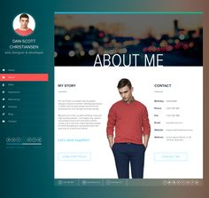 YOU CAN FIND IT HERE: https://creativemarket.com/Snoopy_Industries/74820-iSPY-CVResumeBlog-HTML-Template  iSPY is a minimalist, elegant and responsive resume 17 PAGES HTML5 template which is suitable for using it as a vcard, small personal portfolios, photographers, wedding journals etc.