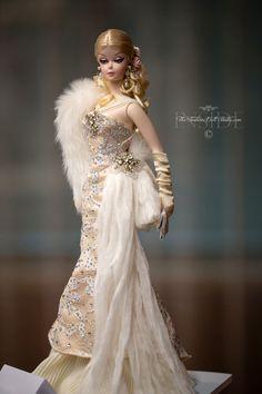 Barbie Alessandro Gatti and Giuseppe Barbie Wedding Dress, Barbie Gowns, Barbie Dress, Designer Wedding Dresses, Vintage Barbie Clothes, Doll Clothes, Barbie Mode, Poppy Parker, Bride Dolls