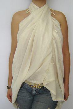 Bridesmaids towel Elegant Beach Towel Pareo Sarong by TheAnatolian