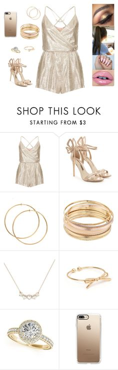 """""""Untitled #6172"""" by sigalv ❤ liked on Polyvore featuring Oh My Love, Sophia Webster, Mudd and Casetify"""