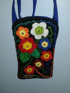 Mini Bolsa crochê 03 - Criação Lourdinha Reis Salles