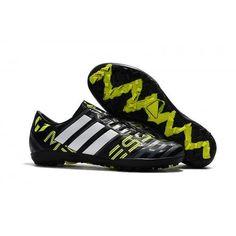new arrival 7317b 6fa02 Cheap Adidas Nemeziz 17-3 TF Football Boots Black White Green Cheap Soccer  Cleats,