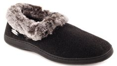 Acorn Women's Chinchilla Collar Slipper - Click to enlarge title=