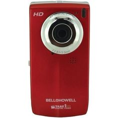 BELL HOWELL T100HD-R 5.0 Megapixel Take1HD Digital Video Camera with Flip-OutLCD