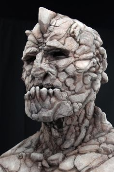 SLATE the GOLEM - Silicone Mask