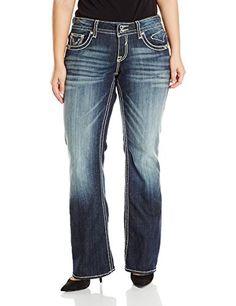 Vigoss Women's Plus-Size New York Boot Jean, Dark Wash, 2... http://www.amazon.com/dp/B00WI3WRLC/ref=cm_sw_r_pi_dp_dkKixb15K1B8B