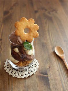 簡単コーヒーホイップチョコサンデー レシピ