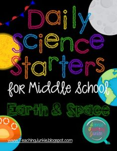 Daily Science Starters for Middle School - Matter and Energy ...