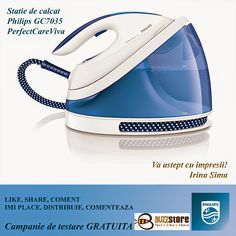 PerfectCare Viva Steam Generator Iron 5 Bar Pump Pressure Faster and easier ironing with Exclusive Simple English Users Manual and Free Gift Tape Measure; ** Check out this great product. (This is an affiliate link) Suresnes France, Steam Generator Iron, Pressing, Home Appliance Store, Iron Reviews, Fabric Shaver, 5 Bar, Philips, Home And Garden