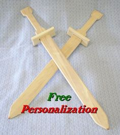 Heres the sword that every swashbuckling pirate, sneaky silent ninja, or even King Arthur himself needs! This hardwood sword is made of smooth-sanded