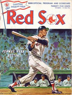 1968 Red Sox Program John Cullen Murphy cover art (Wikipedia says he did the Prince Valiant strip from 1970 to 2004)