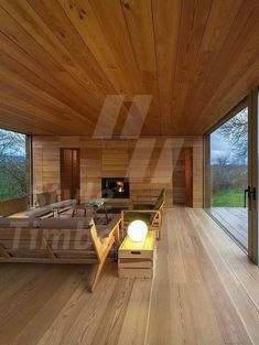 Archilovers The Social Network for Architect — Four Seasons House, Berrocal, 2013 by ch + qs -. Casa Loft, Casas Containers, Forest House, House In The Woods, Modern House Design, My Dream Home, Interior Architecture, House Plans, Bangkok Thailand