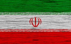 Download wallpapers Flag of Iran, 4k, Asia, wooden texture, Iranian flag, national symbols, Iran flag, art, Iran