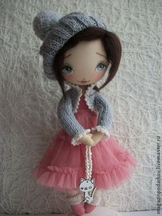 Коллекционные куклы ручной работы. Ярмарка Мастеров - ручная работа Кукла Танечка. Handmade.